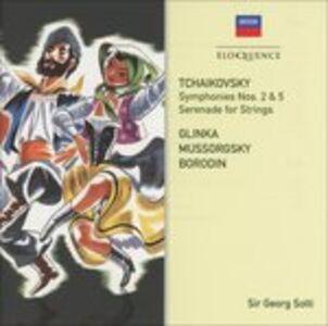 CD Symphonies 2 & 5 di Pyotr Il'yich Tchaikovsky