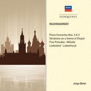 CD Concerti per Pianoforte 2 & 3 - Sol di Sergei Vasilevich Rachmaninov