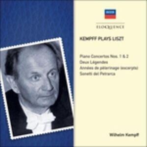 Foto Cover di Kempff Plays Liszt, CD di Franz Liszt,Wilhelm Kempff, prodotto da Eloquence