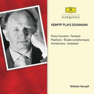 CD Kempff Plays Schumann di Robert Schumann