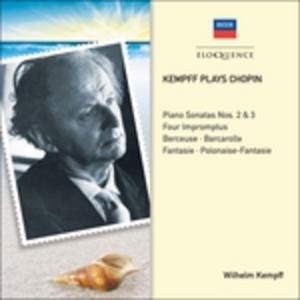 CD Kempff Plays Chopin di Fryderyk Franciszek Chopin