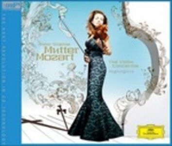 Foto Cover di Suona Mozart, CD di Anne-Sophie Mutter, prodotto da JVC