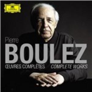 CD The Complete Works di Pierre Boulez