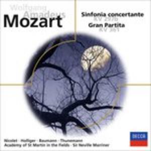 CD Sinfonia Concertante di Wolfgang Amadeus Mozart