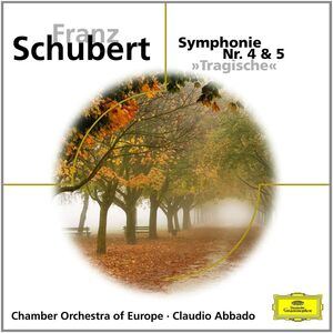 Foto Cover di Sinfonie N.4, N.5, CD di Franz Schubert, prodotto da Deutsche Grammophon