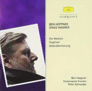 Foto Cover di Sings Wagner, CD di Richard Wagner,Ben Heppner, prodotto da Eloquence