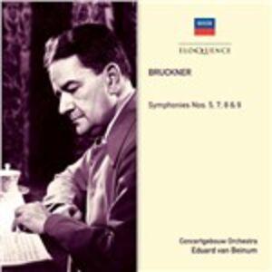 CD Sinfonie N.5, N.7, N.8, N.9 di Anton Bruckner