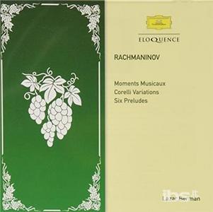 CD Moments Musicaux; Corelli di Sergei Vasilevich Rachmaninov