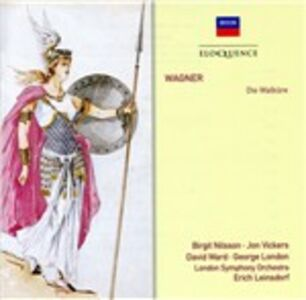 Foto Cover di La valchiria (Die Walküre), CD di Richard Wagner, prodotto da Eloquence 0