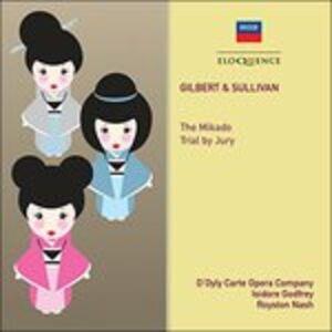 CD Mikado-Trial By Jury di Arthur Sullivan