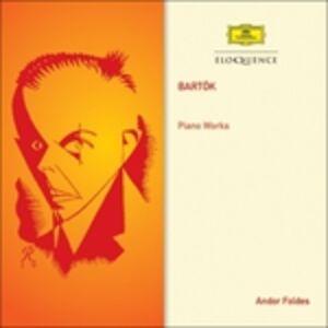 CD Musica per Pianoforte di Bela Bartok