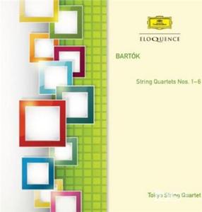 CD String Quartets di Bela Bartok