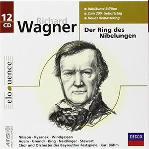 CD Der Ring des Nibelungen di Richard Wagner