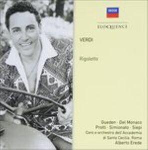 Foto Cover di Rigoletto, CD di Giuseppe Verdi, prodotto da Eloquence