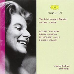 Foto Cover di Vol. 3. Mozart & Live Recor, CD di Wolfgang Amadeus Mozart,Irmgard Seefried, prodotto da Eloquence
