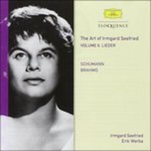CD Vol. 6. Schumann, Brahms Johannes Brahms , Robert Schumann
