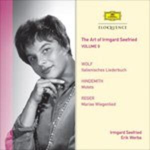 CD Vol. 9. Wolf, Hindemith, Paul Hindemith , Hugo Wolf