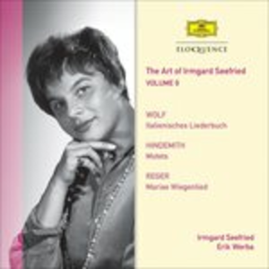 CD Vol. 9. Wolf, Hindemith, Paul Hindemith , Hugo Wolf , Max Reger