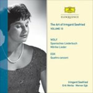 CD Vol. 10. Wolf, Egk Hugo Wolf , Werner Egk