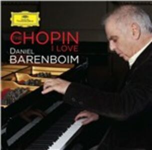 CD The Chopin I Love di Fryderyk Franciszek Chopin