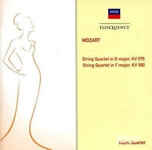 CD Quartetti per Archi Kv 575 & di Wolfgang Amadeus Mozart