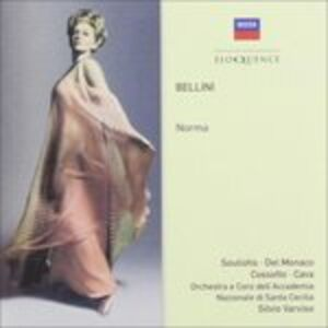 Foto Cover di Norma, CD di Vincenzo Bellini, prodotto da Eloquence