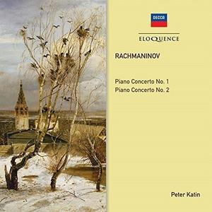 CD Concerti per Pianoforte Nos 1&2 di Sergei Vasilevich Rachmaninov