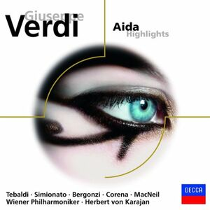 CD Aida di Giuseppe Verdi