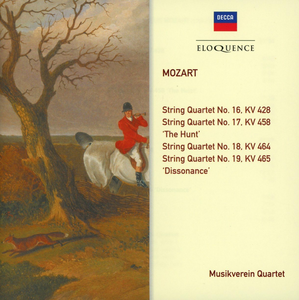 CD Quartetti per Archi kv di Wolfgang Amadeus Mozart