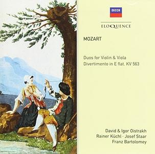 CD Duos for Violin & Viola di Wolfgang Amadeus Mozart