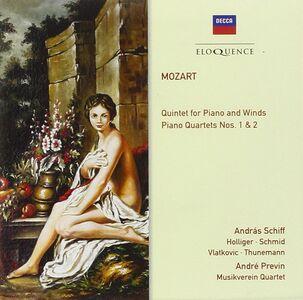 CD Quartetti con Pianoforte - Piano Quin di Wolfgang Amadeus Mozart