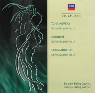 Quartetti per Archi - CD Audio di Alexander Porfirevic Borodin