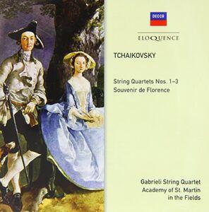 CD Quartetti per Archi 1 - 3 - Souve di Pyotr Il'yich Tchaikovsky