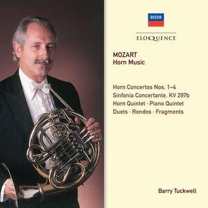 Foto Cover di Horn Music, CD di Wolfgang Amadeus Mozart, prodotto da Eloquence