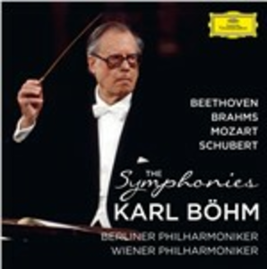 CD Le sinfonie Ludwig van Beethoven , Johannes Brahms , Wolfgang Amadeus Mozart , Franz Schubert