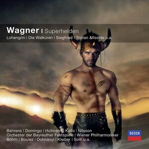 Foto Cover di Superhelden, CD di Richard Wagner, prodotto da Decca