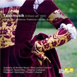CD Tanzmusik Um 1600