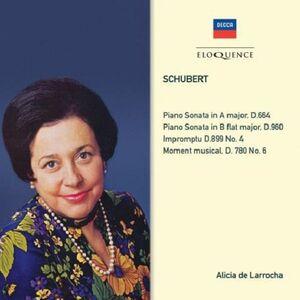 CD Sonate per Pianoforte D664 & 960 di Franz Schubert