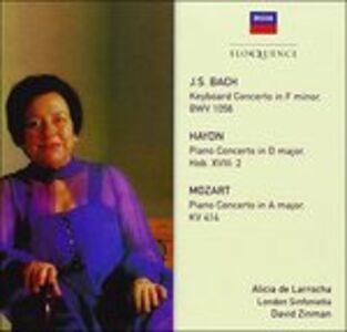 Foto Cover di Concertos, CD di Alicia de Larrocha, prodotto da Eloquence