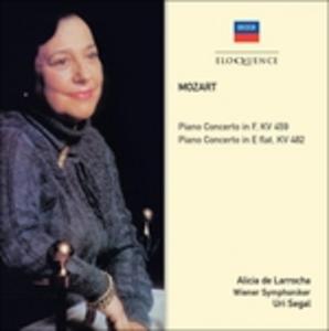 CD Concerti per Pianoforte No. 19 & 2 di Wolfgang Amadeus Mozart