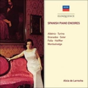 CD Spanish Piano Encores