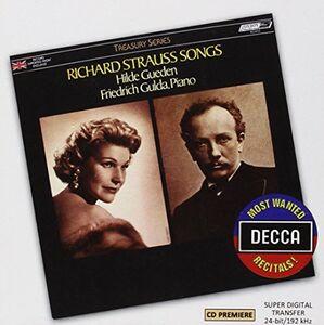 Foto Cover di Songs, CD di Richard Strauss, prodotto da Decca