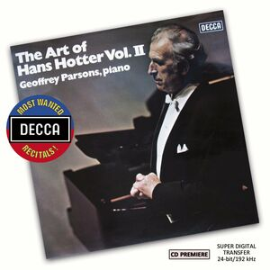 Foto Cover di Art of Hans, CD di Hans Hotter, prodotto da Decca
