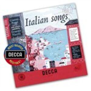 Foto Cover di Canzoni Italiane, CD di Gianni Poggi, prodotto da Decca