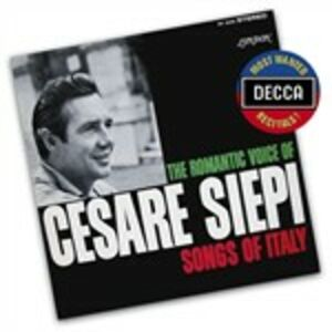 CD Songs of Italy