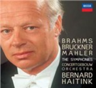 CD Le sinfonie Johannes Brahms , Anton Bruckner , Gustav Mahler