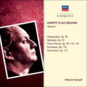 CD Kempff Plays Brahms V.2 di Johannes Brahms