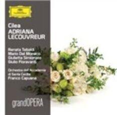 CD Adriana Lecouvreur Mario Del Monaco Renata Tebaldi Francesco Cilea