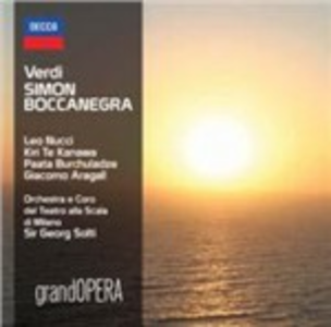 CD Simon Boccanegra di Giuseppe Verdi