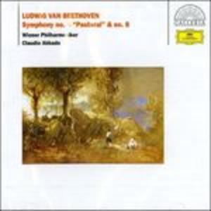 CD Sinfonia n.6 - Sinfonia n.8 di Ludwig van Beethoven